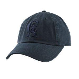 American Needle Angels logo baseball hat in navy